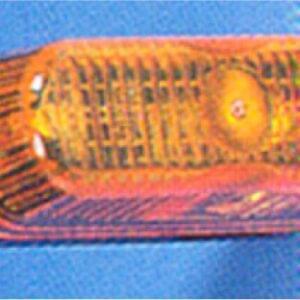 Farolim Pisca Lateral Laranja 74X26